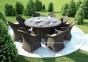 Садовое кресло Leonardo Royal из искусственного ротанга 3