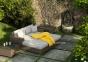 Лежанка из искусственного ротанга, крайний правый модуль мебельной системы Milano Royal  0