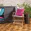 Складной садовый стул с подлокотниками Finlay из дерева акации 3