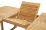 Складной садовый стол Бергамо из тика 180/240*120 см 2