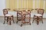 Ротанговый комплект мебели для завтрака 0