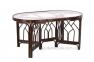 Обеденный комплект мебели на 6 персон из натурального ротанга 03/02 1