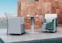 Комплект садовой мебели: стол Vigo и два кресла Merida  0