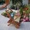 Сервировочный столик Viktoria из массива меранти 0