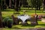 Стол обеденный Риконе из искусственного ротанга 110 см, капучино 0