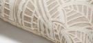 Декоративная подушка Minimal с белой вышивкой 45x45 см, бежевый 0