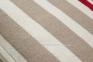 Трикотажная декоративная подушка Aran 30x50 см в полоску 0