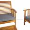 Комплект садовой мебели Finlay из массива акации с подушками 1