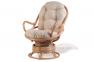 Кресло крутящееся из натурального ротанга 05/01 0