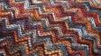 Декоративная подушка Cubik с вышитым рисунком 45x45 см, многоцветная 0
