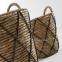 Комплект из 2-х плетеных корзин MAJA 0