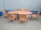 Раскладной садовый стол Butterfly из тика, 160/240 см 4