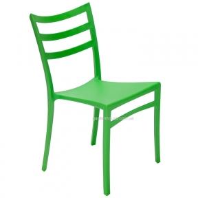 Стул без подлокотников Maka (белый, зеленый, оранжево-красный, черный)