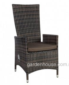 Кресло ротанговое Wicker с регулируемой спинкой
