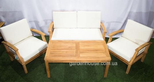 Кофейный столик Selbi из тика 120х60 см