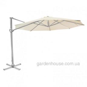Консольный круглый зонт Roma 3 м, бежевый