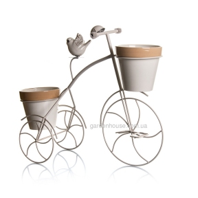 Декоративный велосипед-цветник 52х20,8х44 см