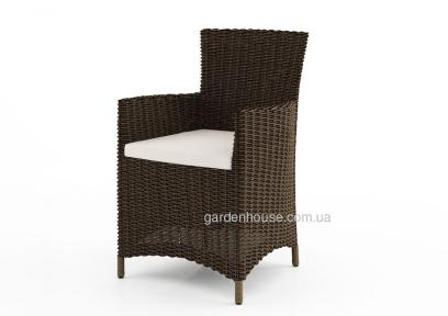 Плетеное кресло Amanda из искусственного ротанга