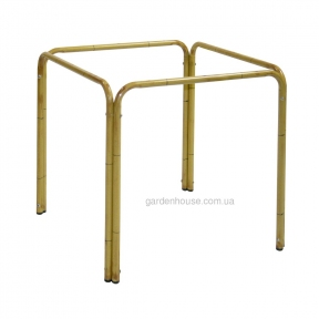Ножки  / основа для стола из алюминия (имитация бамбука) 67x67x70 см