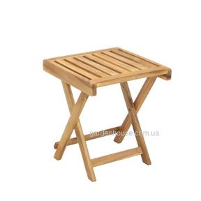 Вспомогательный столик Finlay из массива акации, складной