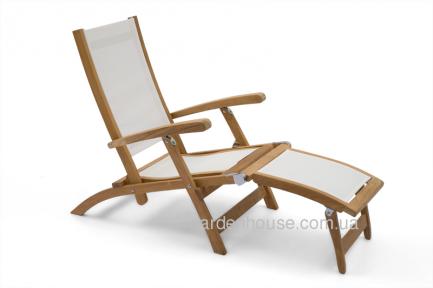 Кресло-шезлонг Lugano из тика