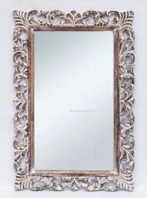 Зеркало Ajur в деревянной раме, прованс 120х80 см