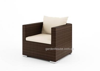 Садовое кресло с Venezia Modern из искусственного ротанга