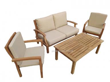 Набор садовой мебели для отдыха Versal из тика
