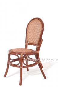 Ротанговый плетеный стул без подлокотников