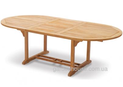 Стол садовый Tavolo из тика, раскладной