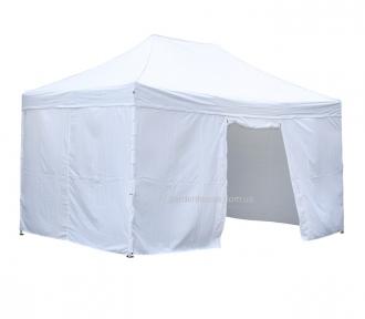 Садовый шатер со стенками 3x4,5 м, складной