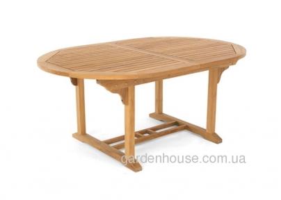 Стол обеденный раскладной Verona из тика 120/180*120 см