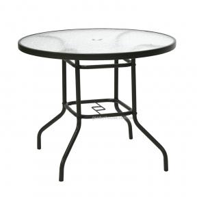 Стол Dublin со стеклом, Ø 90 см