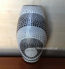 Ваза-кокон керамическая, 25 см