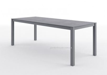 Большой обеденный стол Oviedo Stone & Wood 220 см