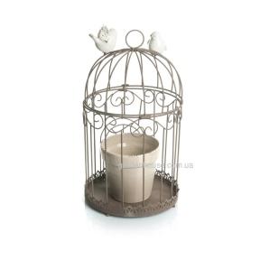 Кашпо в клетке с птичками 41,5 см