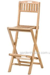 Барный стул Havana из тикового дерева