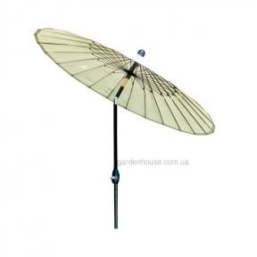 Солнцезащитный зонт Shanghai Ø 213 см (бежевый, салатовый)