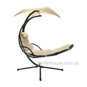 Подвесное кресло-шезлонг Dream с зонтиком