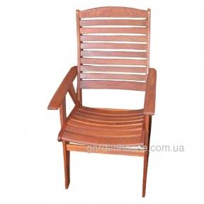 Деревянное кресло Florentina из мербау