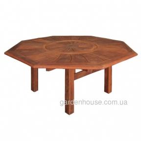 Стол восьмиугольный Moreton из мербау Ø 187,5 см