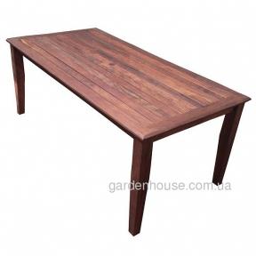 Стол прямоугольный Burke из мербау 180 см