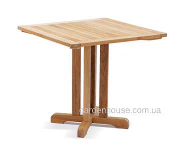 Стол обеденный Quadro из тикового дерева