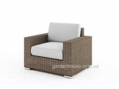 Садовое кресло Milano Royal из искусственного ротанга