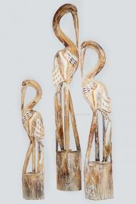 Набор деревянных статуэток