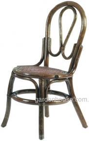 Обеденный стул из натурального ротанга 04/03