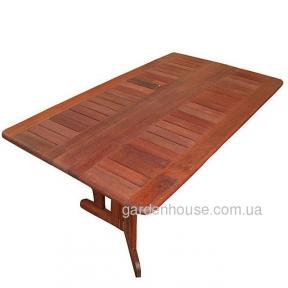Обеденный стол Vienna Folding из мербау 160 см
