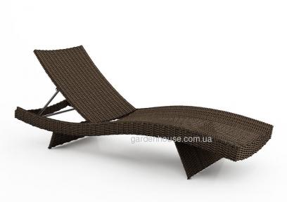 Лежак Mara из искусственного ротанга