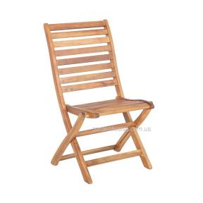 Деревянный стул Черри без подлокотников, складной