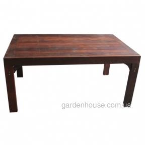 Раскладной обеденный стол Nile из мербау
